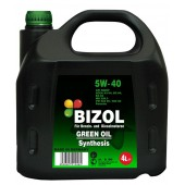 Bizol Green Oil Synthesis 5W40, 4 литра