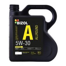 Моторное масло BIZOL Allround 5W30 4 литра