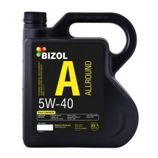 Моторное масло BIZOL Allround 5W40 4 литра