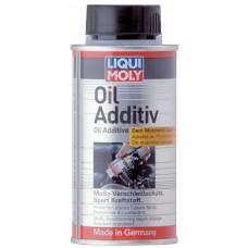 Антифрикционная присадка с MoS2 в моторное масло Liqui Moly Oil Additiv (0,125 л)