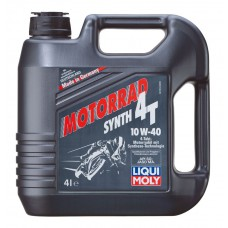 Моторное масло Liqui moly RACING 4T 10W40 HD, 4 литра