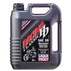 Минеральное моторное масло Liqui moly Racing HD Classic SAE 50 5 литров