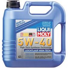 Liqui Moly Leichtlauf High Tech 5W40, 4 литра