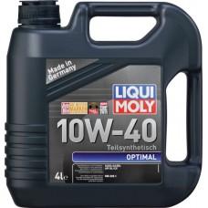 Моторное масло Liqui Moly Optimal 10W-40, 4 литра