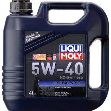 Liqui Moly Optimal Synth 5W40, 4 литра