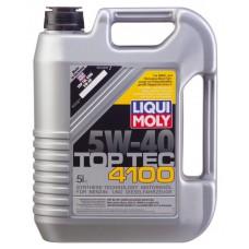 LIQUI MOLY. Top Tec 4100 5W40, 5 литров
