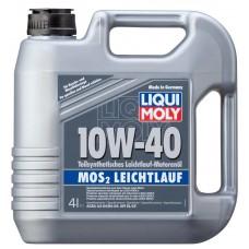 LIQUI MOLY MoS2 Leichtlauf SAE 10W-40, 4 литра