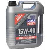 LM MoS2 Leichtlauf 15W40, 4 литра