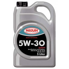 Моторное масло Meguin megol motorenoel QUALITY SAE 5W30, 5 литров