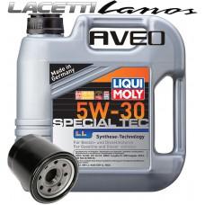 LM Leichtlauf Special LL 5W30 4 литра и масляный фильтр Hengst H90W03