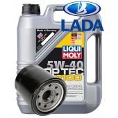 LM Top Tec 4100 5W40 4 литра + масляный фильтр ВАЗ